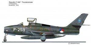 F-84F Holl 315sq 2