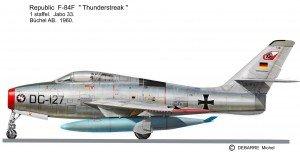 F-84F JB 33
