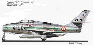 F-84F UE