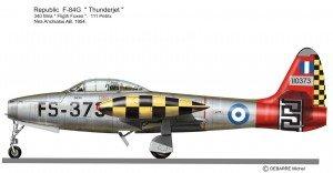 F-84G Grec