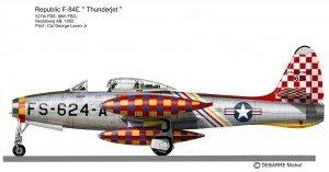 F-84G Laven