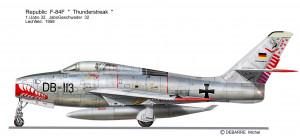 F84F   Jabo 32 1 Staffel
