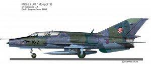 MIG-21UM Cro