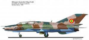 MIG-21UM Mal