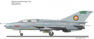 MIG-21UM Ouganda