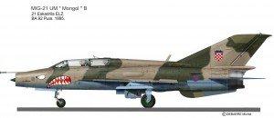 MIG-21UM Pula