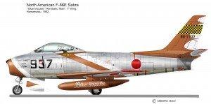 F-86F Blu