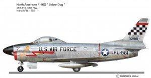 F-86D 25FIS