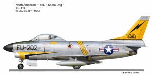 F-86D 31 FIS