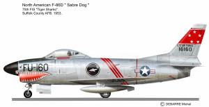 F-86D 75th FIS