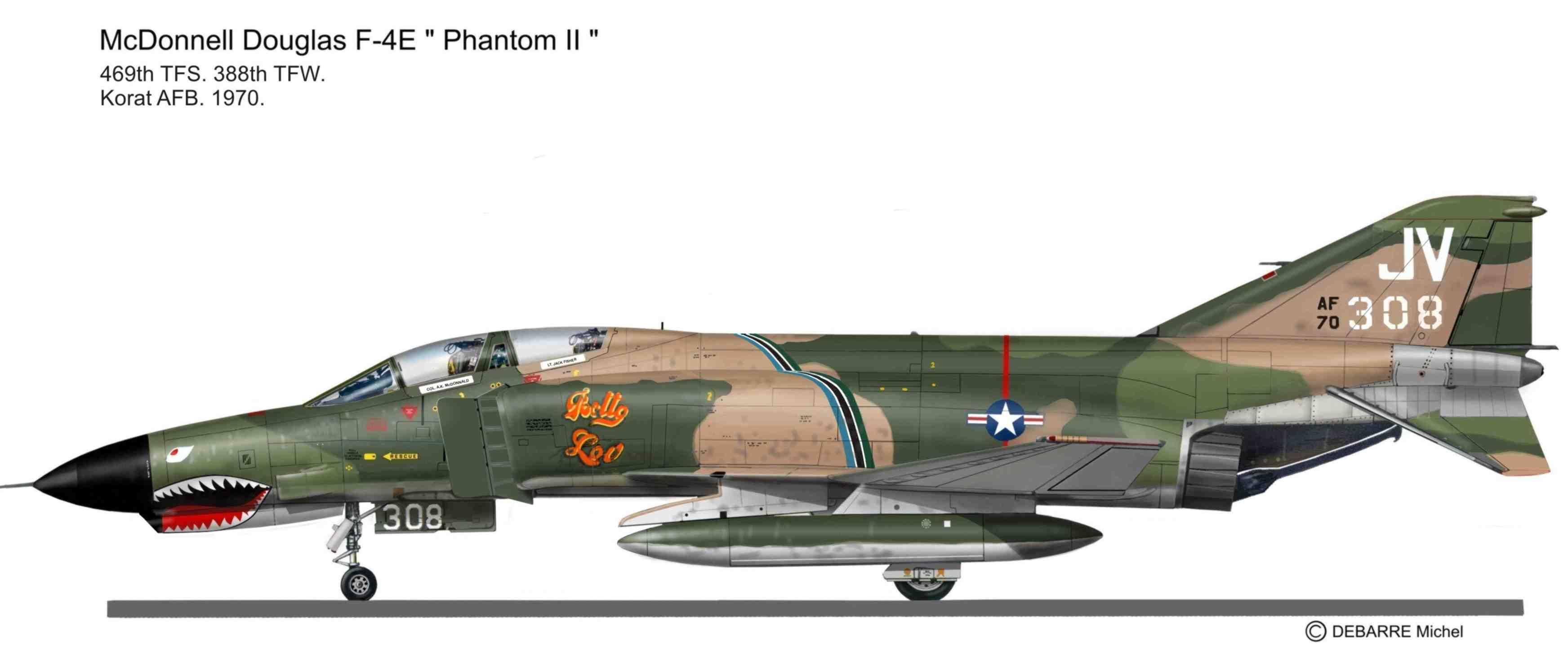 388th TFW F-4E   Miprofiles
