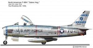 F-86H  10 TFS