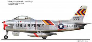 F-86H 312ndFBW