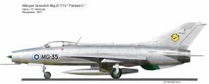 MIG-21 F-13 Rovan