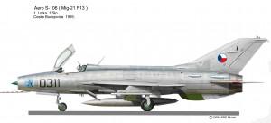 MIG 21 F-13 S-106 0311