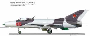 MIG-21 F-13 USAF