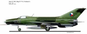 MIG-21 F13 1013