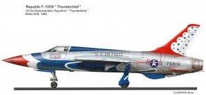 F-105B Thun