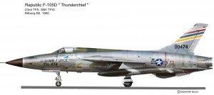 F-105D 23S