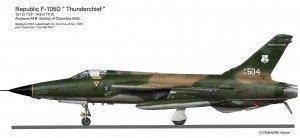 F-105D DC