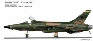 F-105D HI