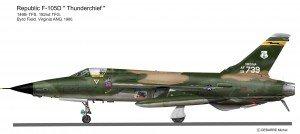 F-105D Pin 2