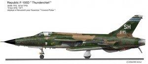 F-105D SH