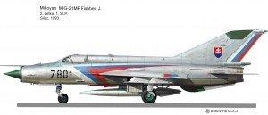 Mig-21 MF 7801