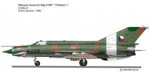 MIG-21 MF 8208