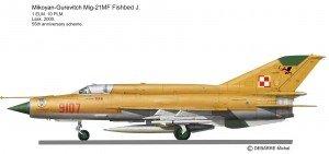 MIG-21MF 9107