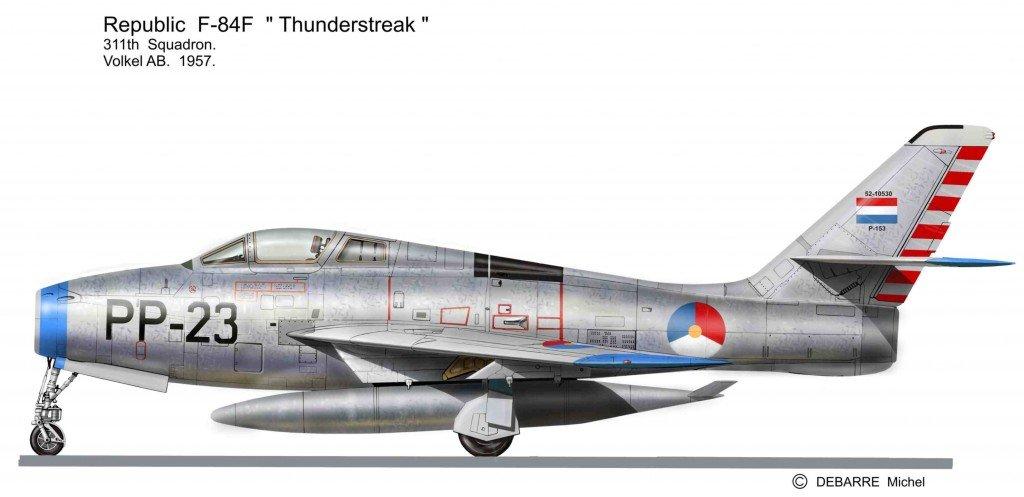 F-84F PP-23