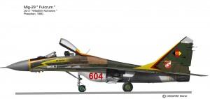 MIG-29 604