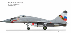 MIG-29 Fulcrum C Zernograd 3
