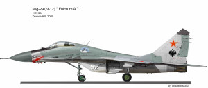 MIG-29 Russie  Domna