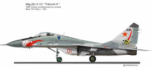 MIG-29 Russie  Mary 1
