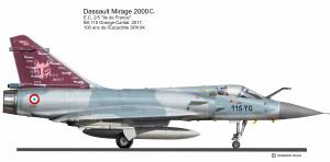MIR 2000C Droit 12-YG 4