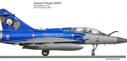 Mirage 2000 côté droit