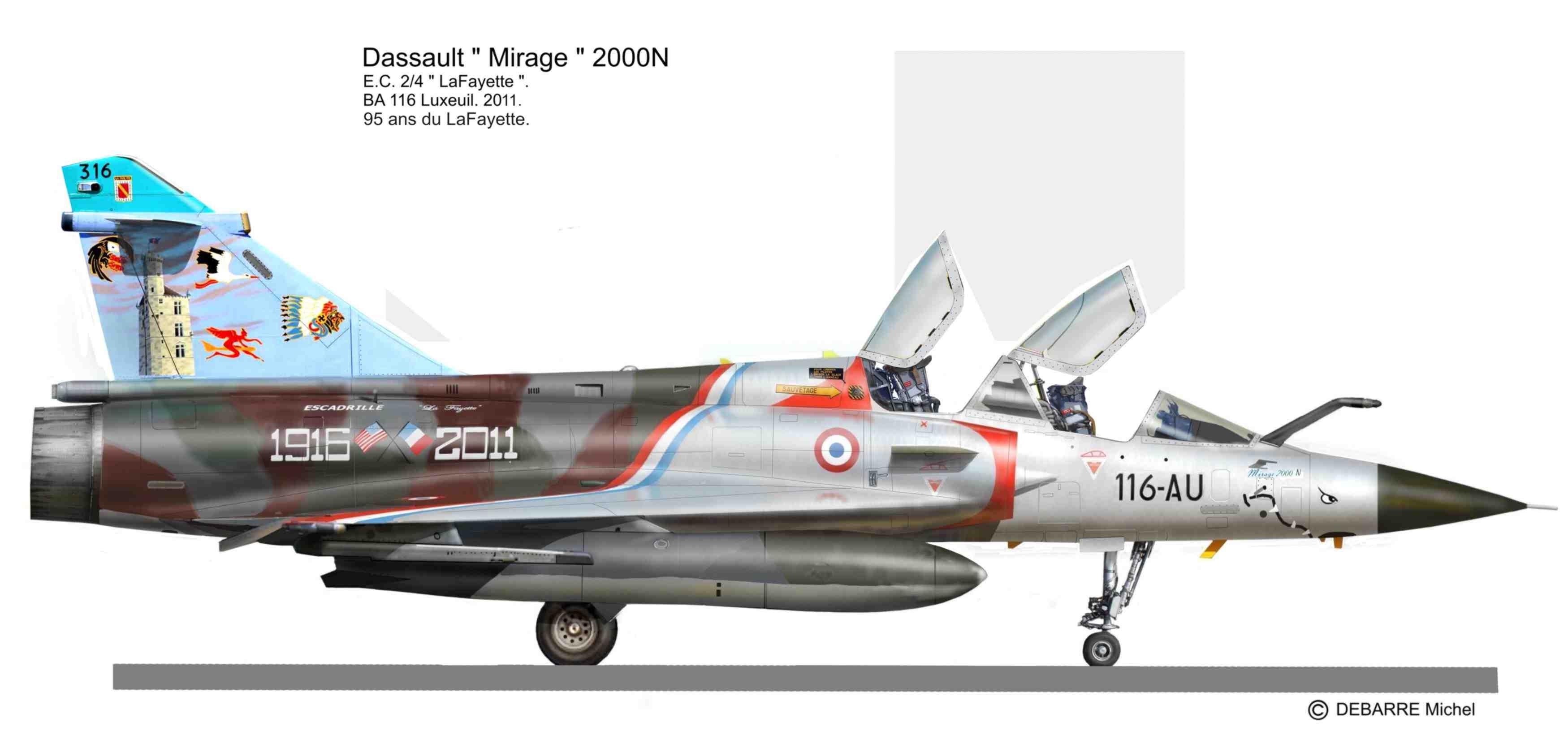 Mirage 2000 c t droit miprofiles for Interieur mirage 2000