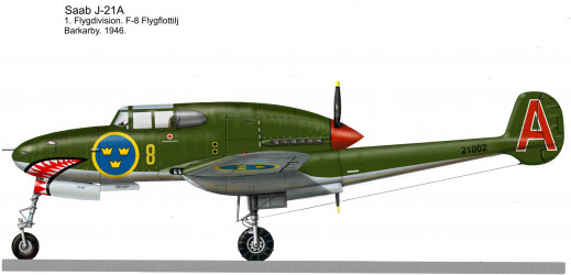 Saab J-21