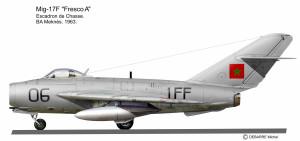 MIG-17 Maroc