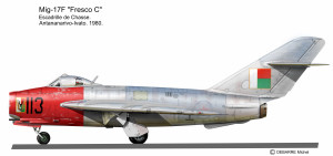 MIG-17F Madag