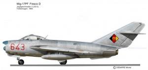 MIG-17PF 643