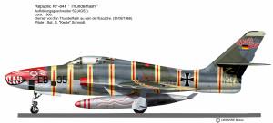 RF-84F  EB-357
