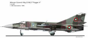MIG-23 MLD Bulgare
