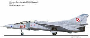 Mig-23 UB 845 28Slp