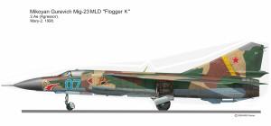 MIG-23MDL  Agressor