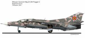 Mig-23UB  135 Rom