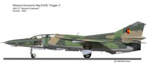 Mig-23UB  JBG 37
