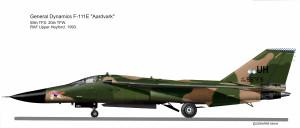 F-111E  55 TFS