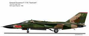 F-111E  77 AMU